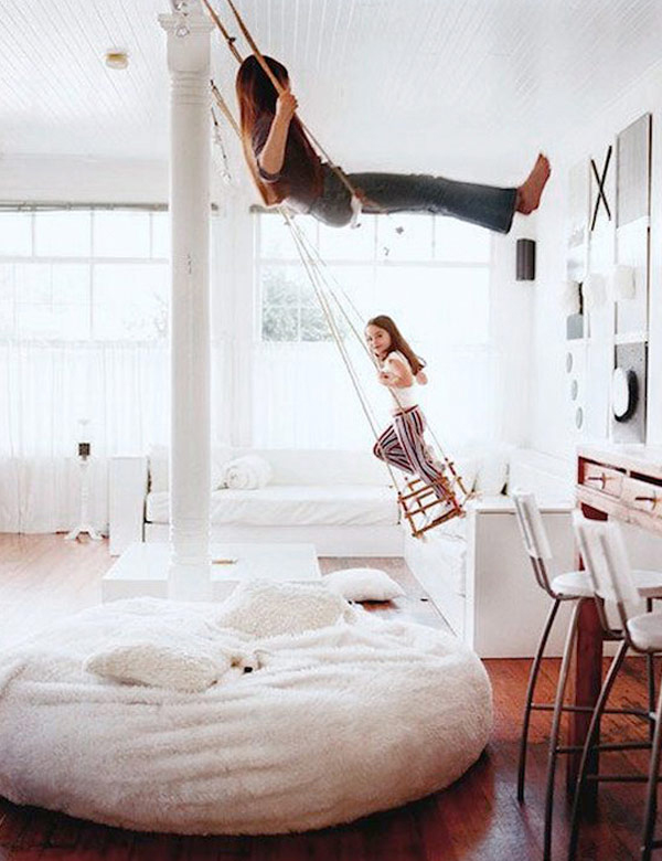 Let's swing at home   My Cosy Reterat