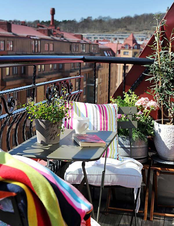 The small balcony – ideal outdoor retreat at home | My Cosy Retreat