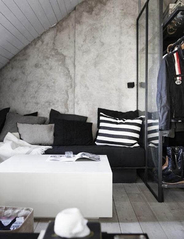 Industrial attic home in Sweden | My Cosy Retreat
