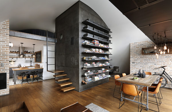 Amazing industrial attic apartment in Sofia