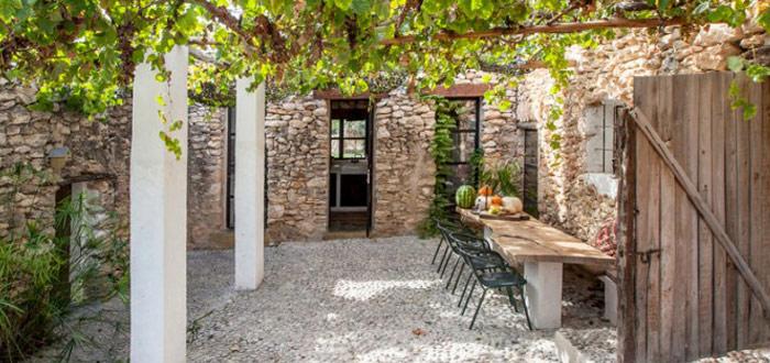 A beautiful old farmhouse on Ibiza