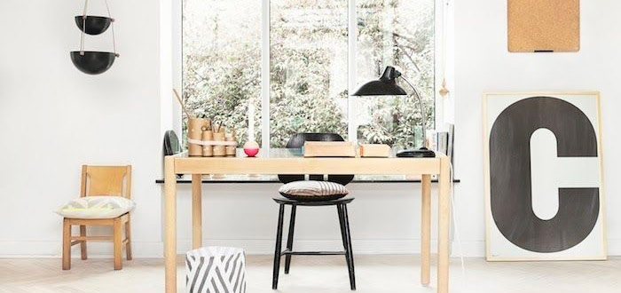 Inspiring Scandinavian style home offices