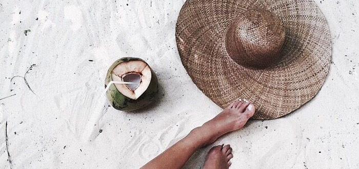 Tropical summer mood