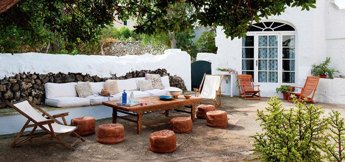 The eclectic summer house of Ursula Mascaro in Menorca