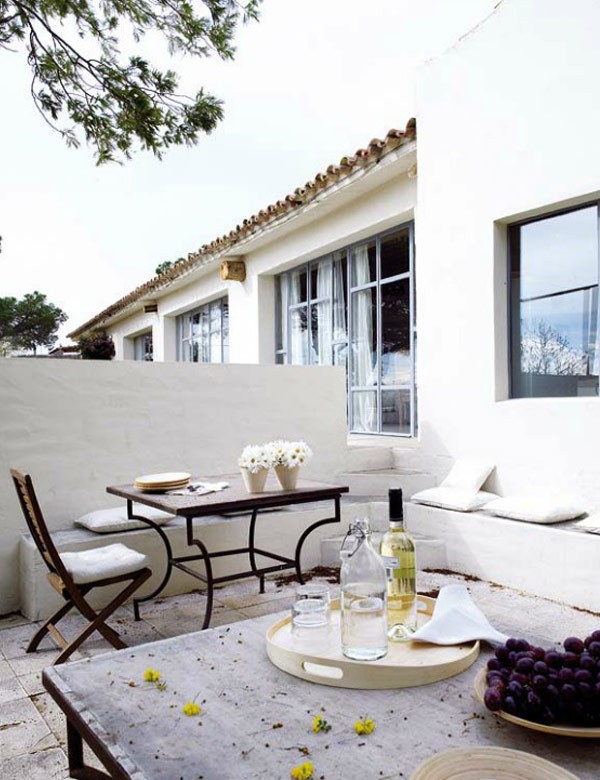 Old ice cream factory turned into a beautiful summer house in Spain | My Cosy Retreat