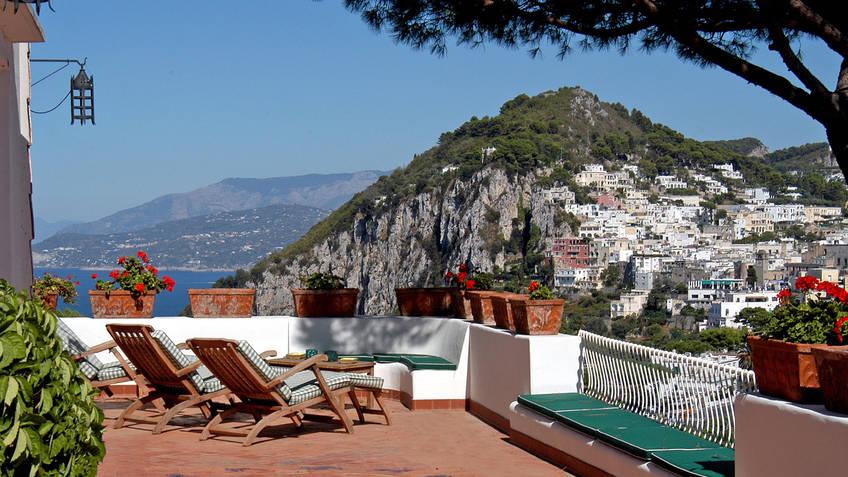 Romantic getaway: the island of Capri, Italy