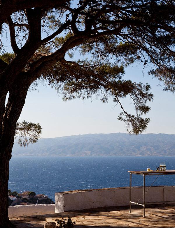 The amazing home of Tina Komninou on the Greek island of Hydra | My Cosy Retreat