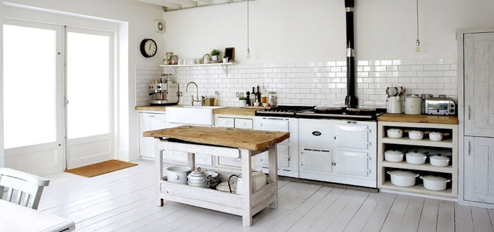 10 amazing rustic Scandinavian kitchen designs