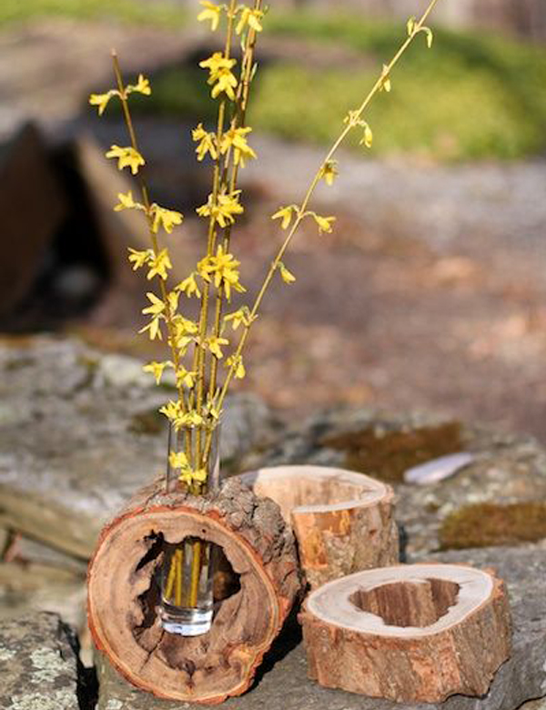 10 gorgeously beautiful DIY rustic vases | My Cosy Retreat