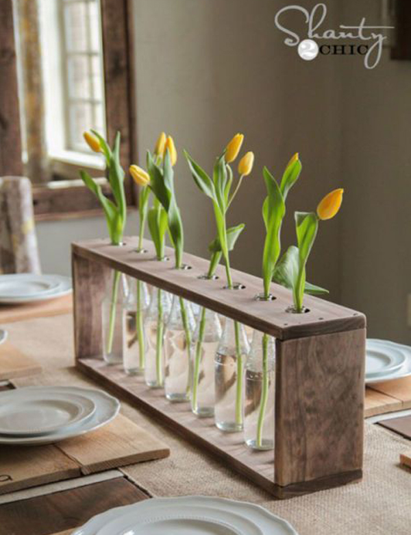 10 gorgeously beautiful DIY rustic vases   My Cosy Retreat