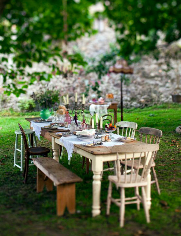 Beautiful alfresco dining inspiration for the last summer days | My Cosy Retreat