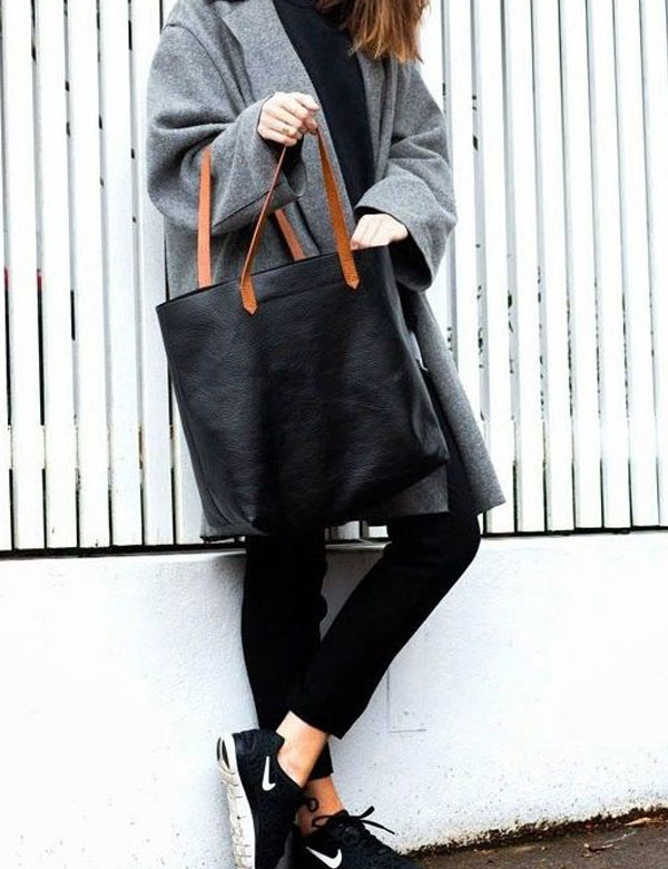 Easy autumn style: coat and sneakers | My Cosy Retreat