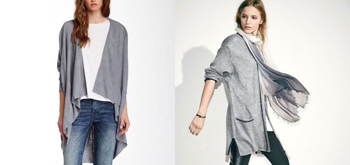 Get wrapped up in a long cardigan