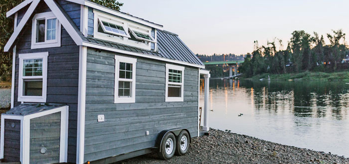 The cutest tiny home on wheels