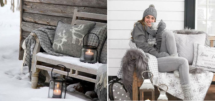 5 Scandinavian-inspired winter outdoor spaces