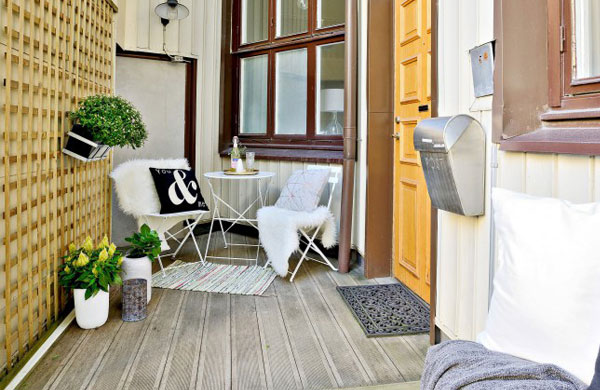 Small and cute 32 m² apartment in Sweden   My Cosy Retreat
