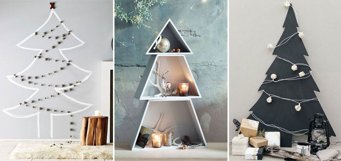 15 amazing alternative DIY Christmas trees