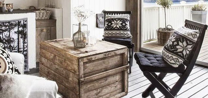 A winter rustic retreat in Norway