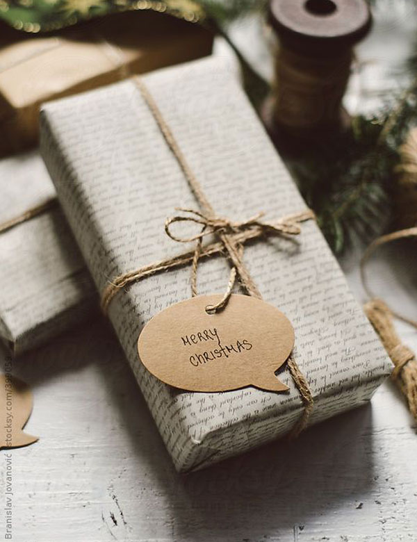 15 natural DIY Christmas gift wrapping ideas | My Cosy Retreat