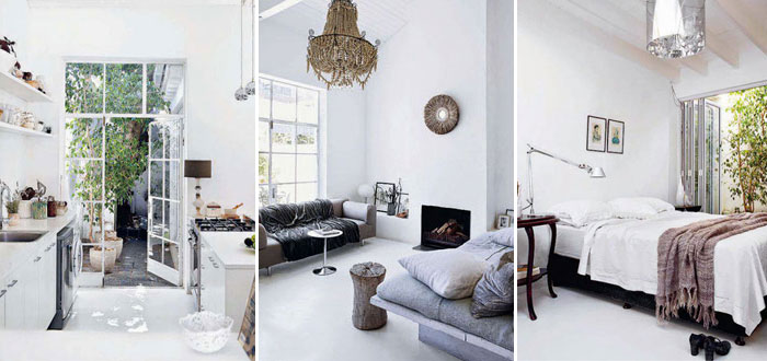 A stunning white home in Cape Town