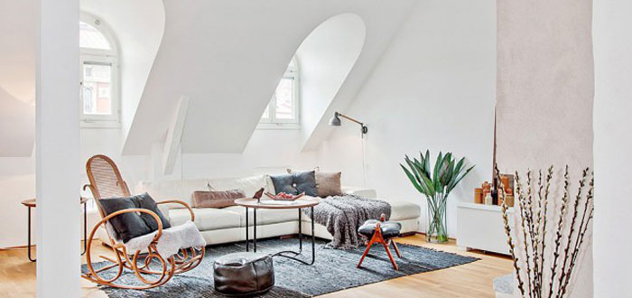 Bright and charming duplex apartment in Stockholm
