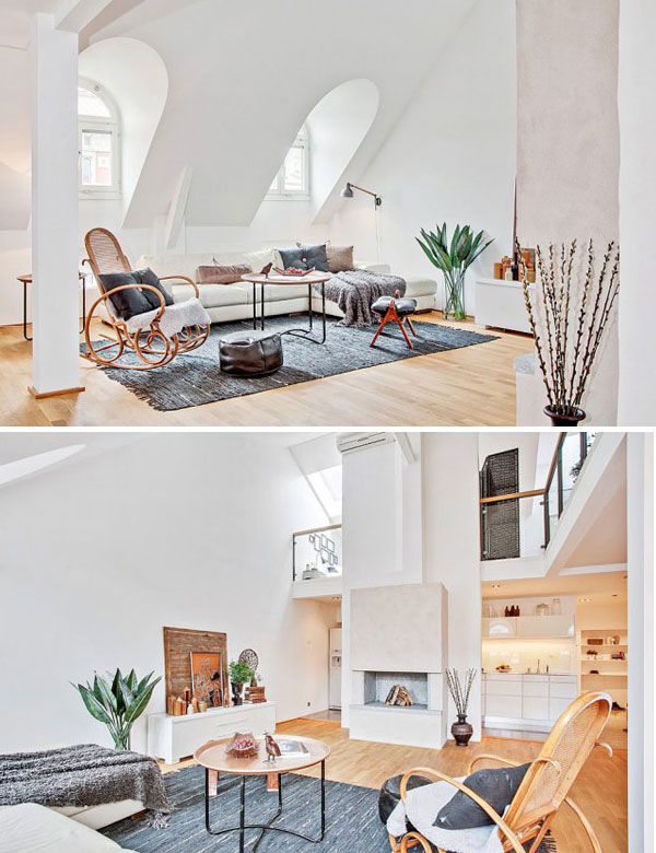 Bright and charming duplex apartment in Stockholm | My Cosy Retreat