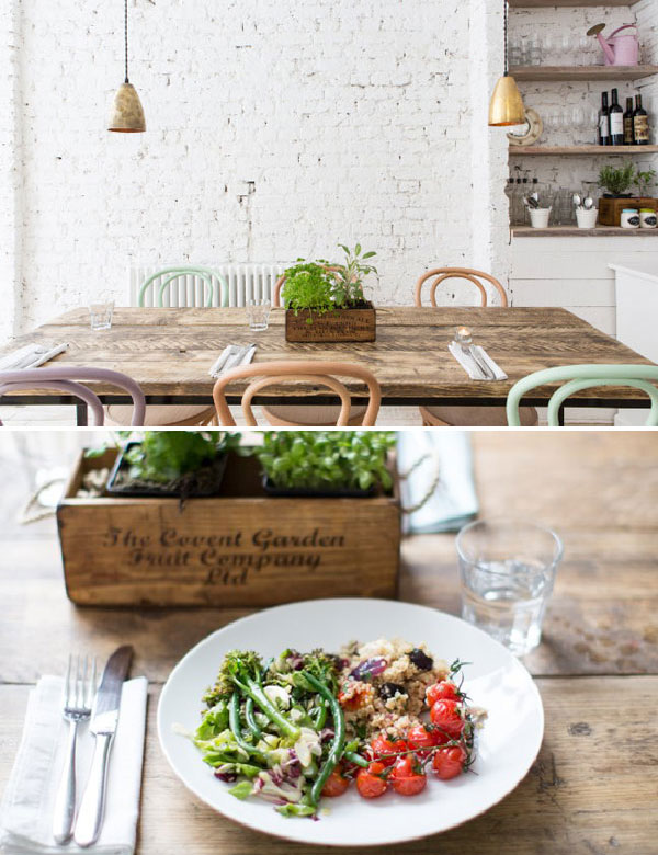 Hally's Cafe in London   My Cosy Retreat