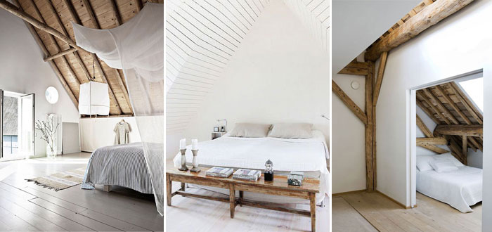 10 beautiful and romantic attic bedroom designs