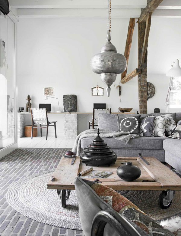 A 19th century Scandinavian ethnic chic farmhouse | My Cosy Retreat