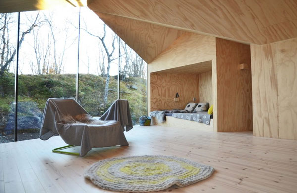 Gorgeous minimalist mountain cabin in Norway | My Cosy Retreat