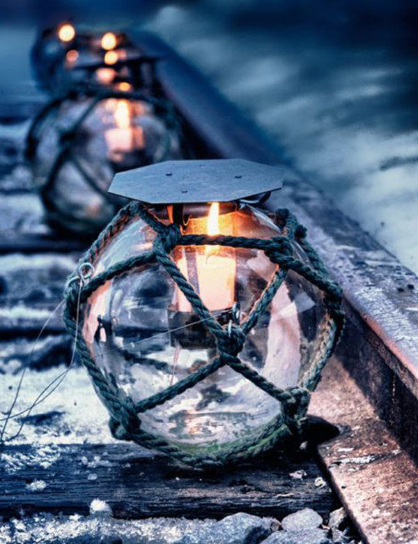 Winter outdoor lantern inspiration | My Cosy Retreat