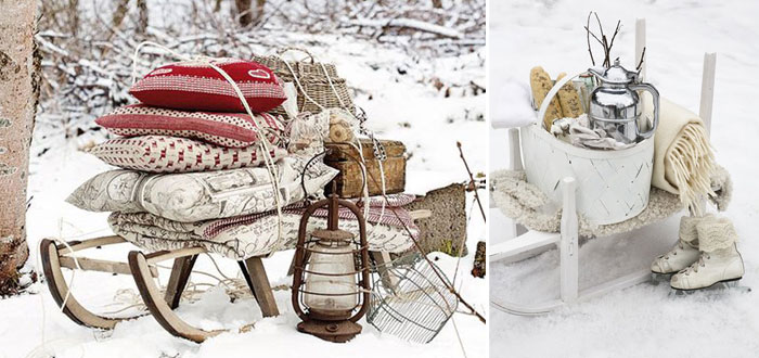 Let's have a snow picnic!