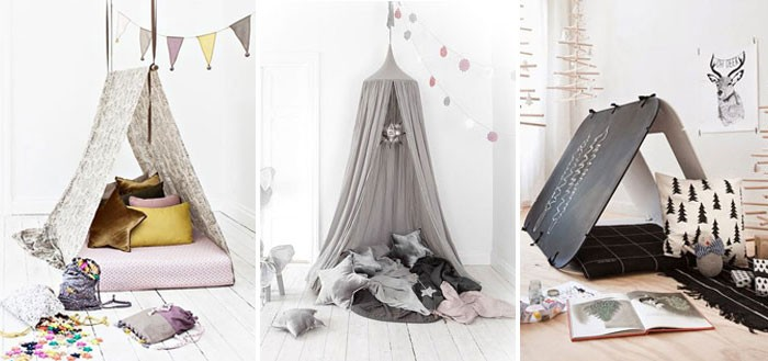 10 awesome tent design ideas for kids room | My Cosy Retreat