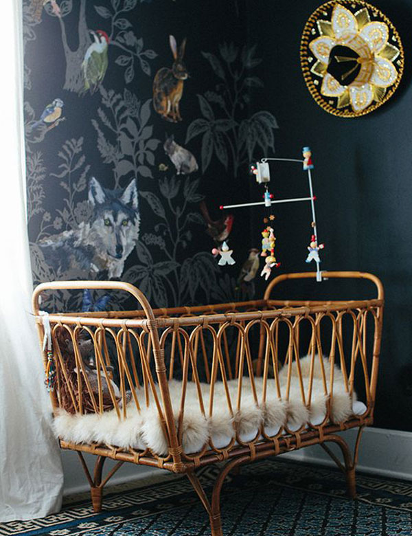 10 lovely nursery designs with vintage and natural vibes | My Cosy Retreat
