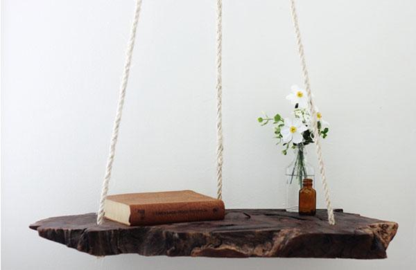Adorable DIY hanging bedside table   My Cosy Retreat