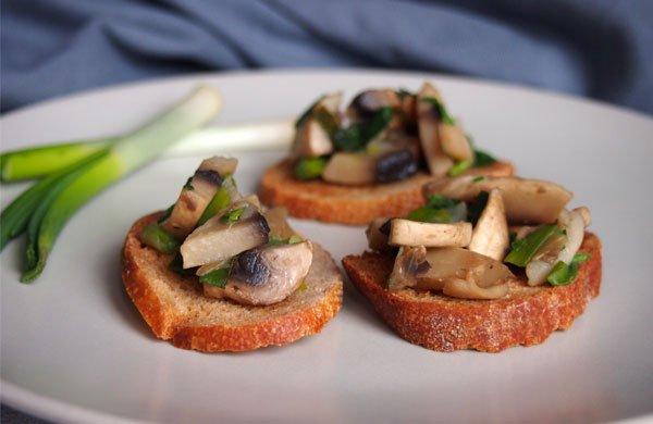 Mushroom bruschetta: so simple, so delicious! | My Cosy Retreat
