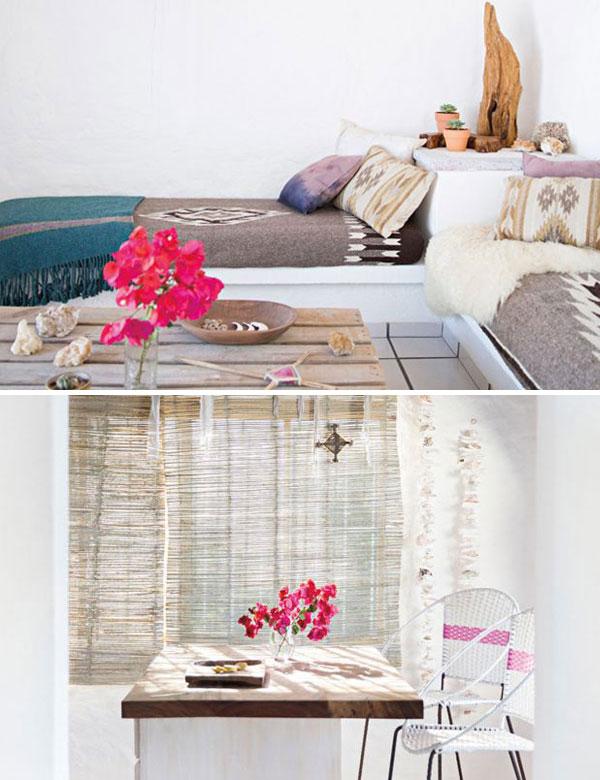 Serene bohemian beach house in Mexico   My Cosy Retreat