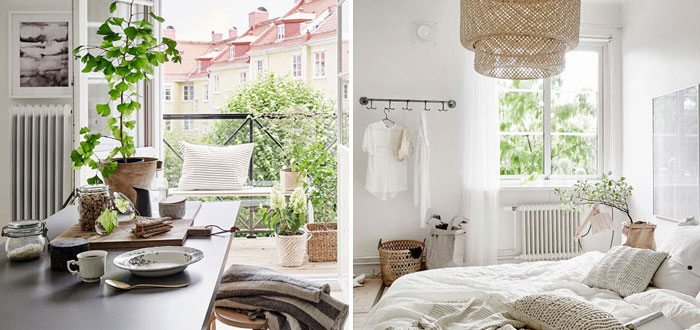 A charming bright apartment in Gothenburg, Sweden