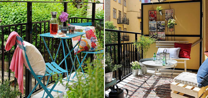 12 awesome designs for a small and cosy balcony