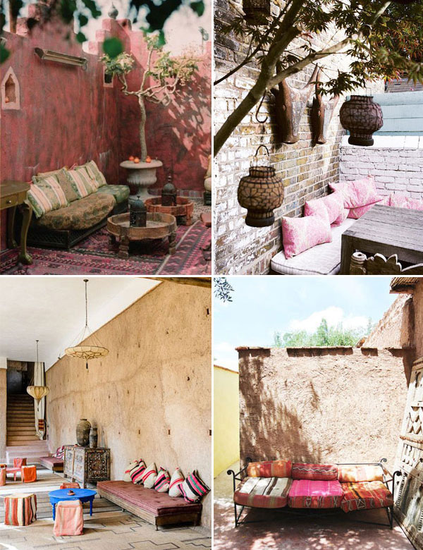 13 stunning Moroccan inspired outdoor spaces | My Cosy Retreat