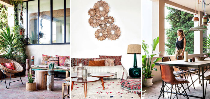 Emma François' bohemian chic home in Marseille