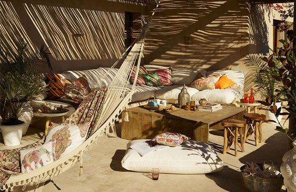 Lovely gipsy vibes in Zara Home Spring Summer 2016 collection | My Cosy Retreat