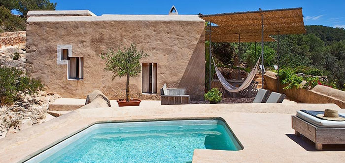A beautifully restored Ibiza villa with breathtaking sea views