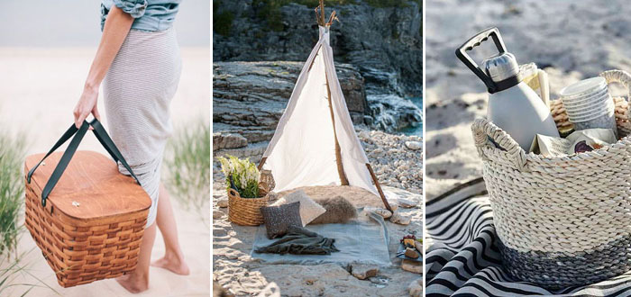 Lovely summer beach picnic inspiration