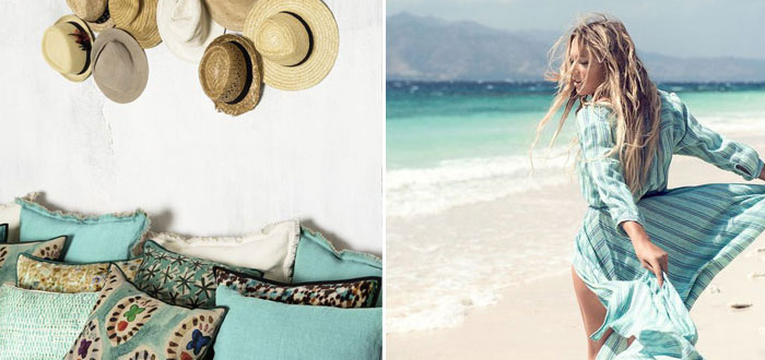 Summer vibes in turquoise… Hello August!