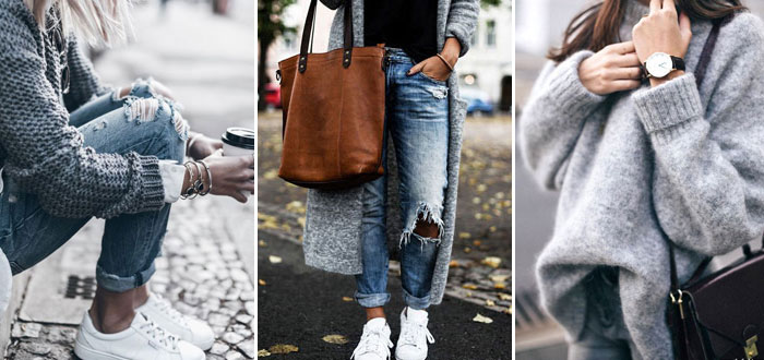10 awesome casual autumn looks in grey