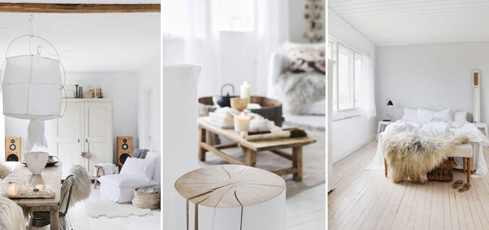 A serene white home in Norway