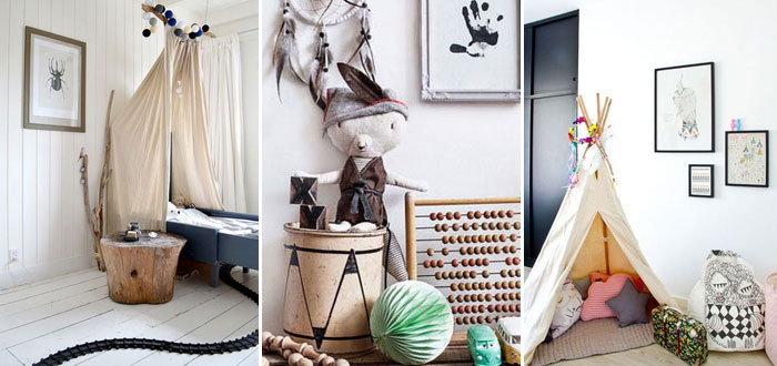 10 lovely bohemian chic kids room designs