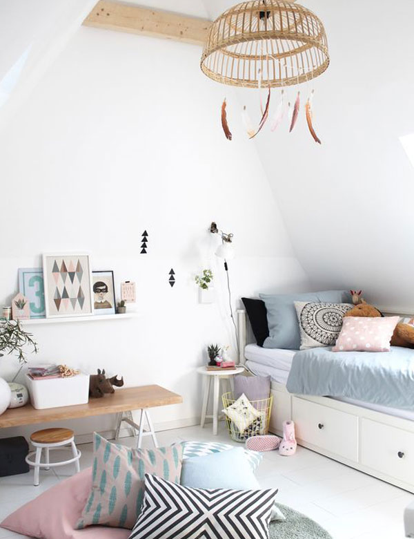 10 lovely bohemian chic kids room designs   My Cosy Retreat