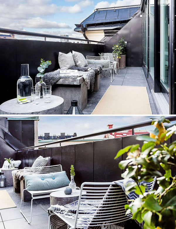 Elegant Scandinavian apartment with a charming outdoor space   My Cosy Retreat